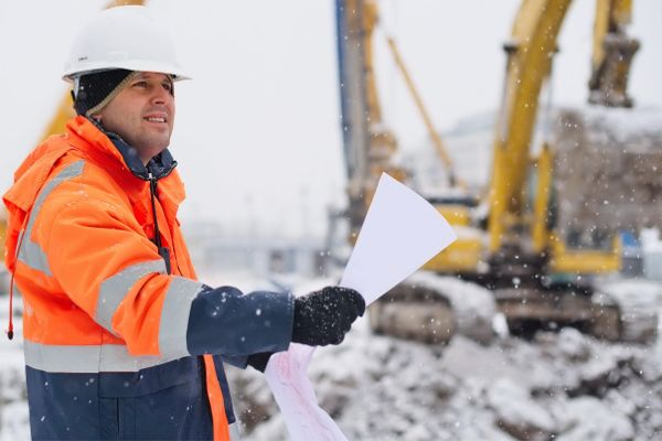Winter safety topics construction